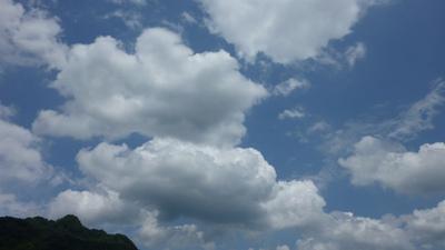 美味しそうな積雲
