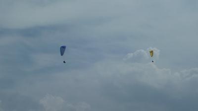 パラグライダー観光タンデムフライト体験