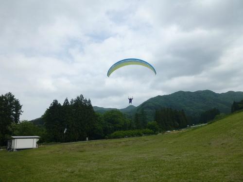 パラグライダータンデムフライト体験5.28